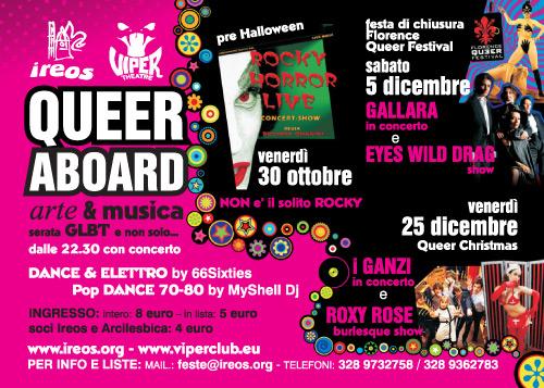 Tutte le date e gli eventi QueerAboard